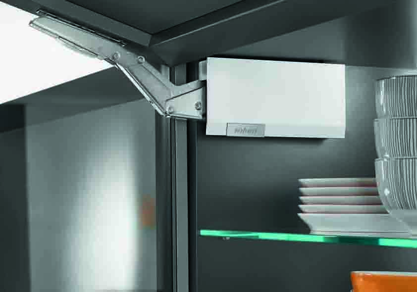 Aventos HK top by Blum: mechanism for small folding doors