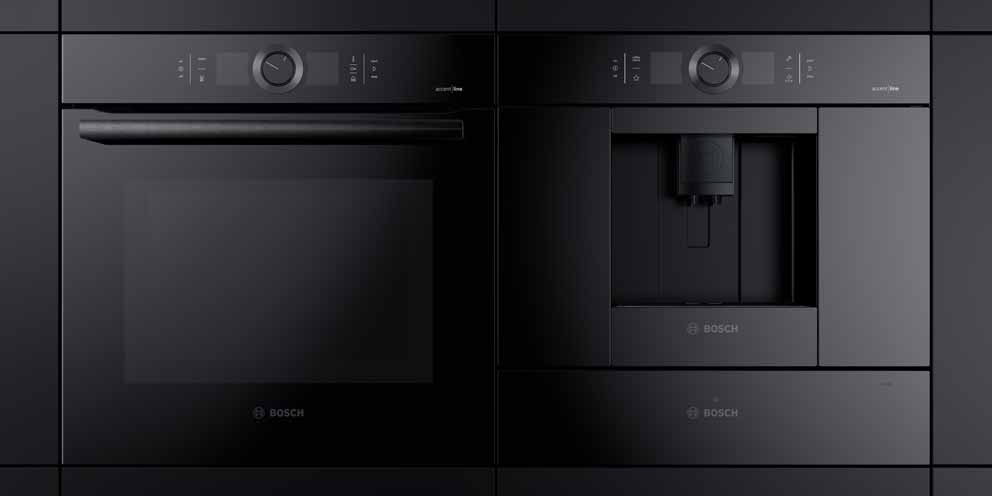 The range of Bosch Black Carbon appliances: perfection and simplicity