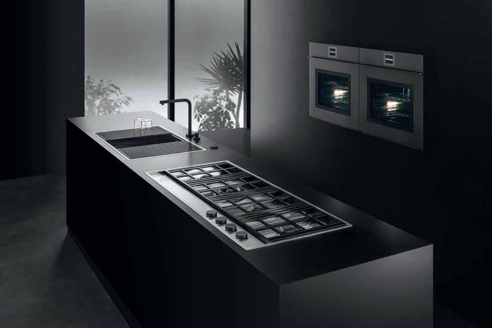Barazza: fregaderos y placas de cocción que se integran en la encimera
