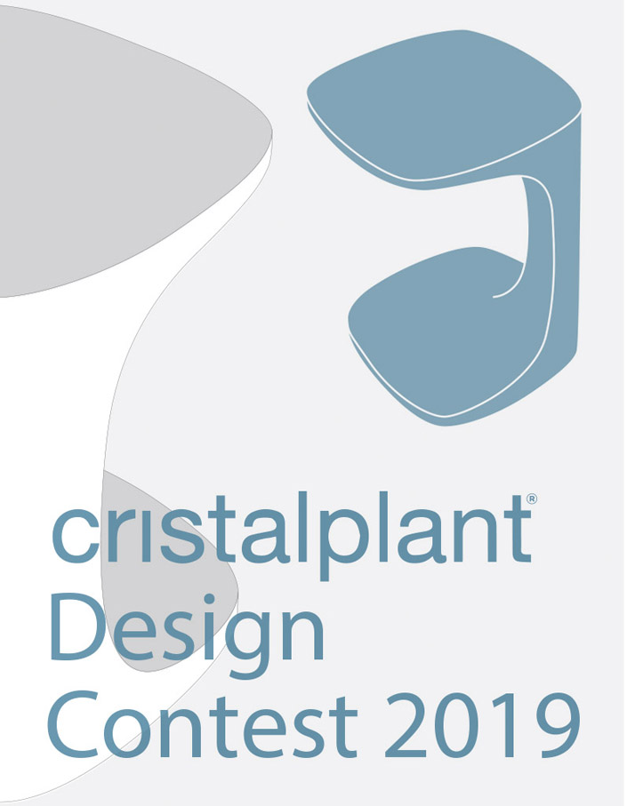 The 2019 edition of the Cristalplant® Design Contest starts