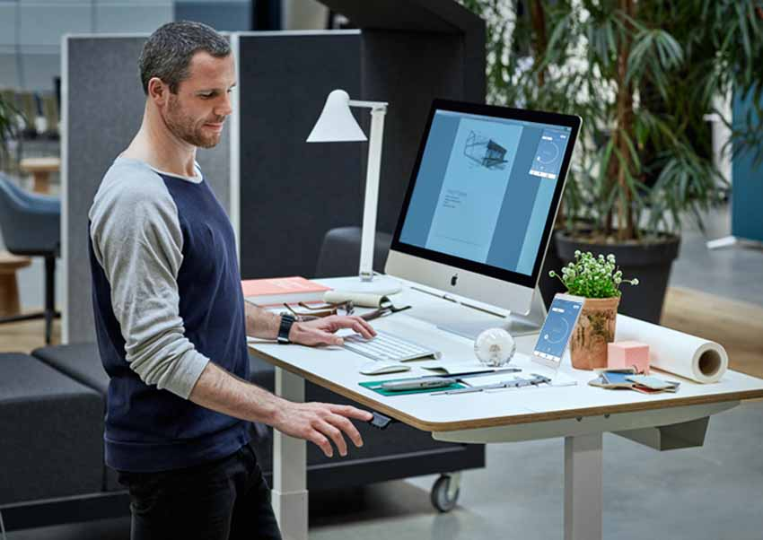 DPG of LINAK: a new way to enliven the  sit-stand desks