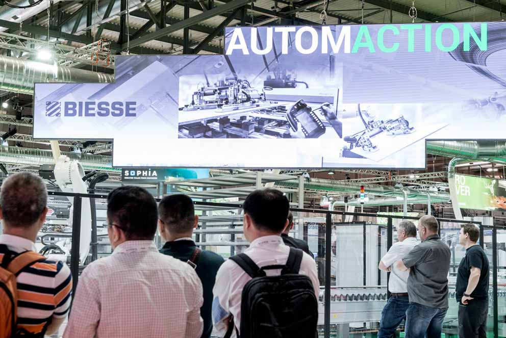 Biesse Automaction: sistemas y software para automatización y digitalización