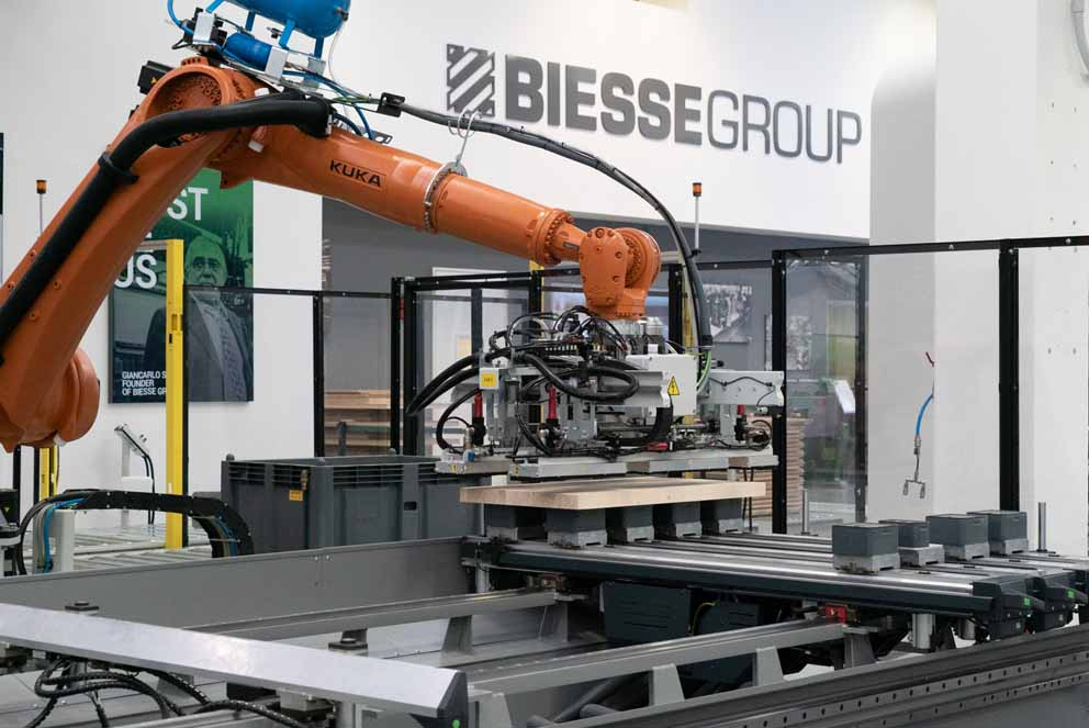 Inside 2018 Biesse: la porte ouverte à l'innovation
