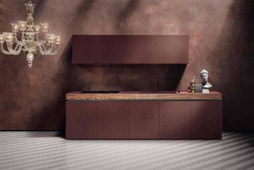 El Grupo Euromobil elige Fenix® para su nueva línea de cocinas Sei