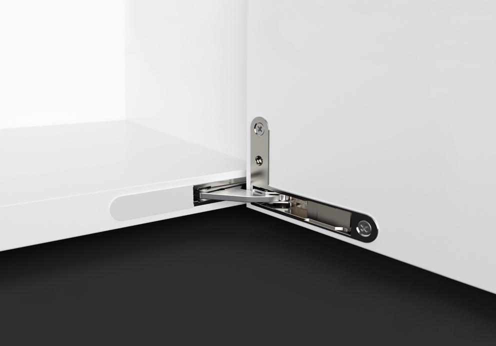De Effegibrevetti la línea de bisagras ocultas Ankor DS y el mecanismo de puertas plegables Unico