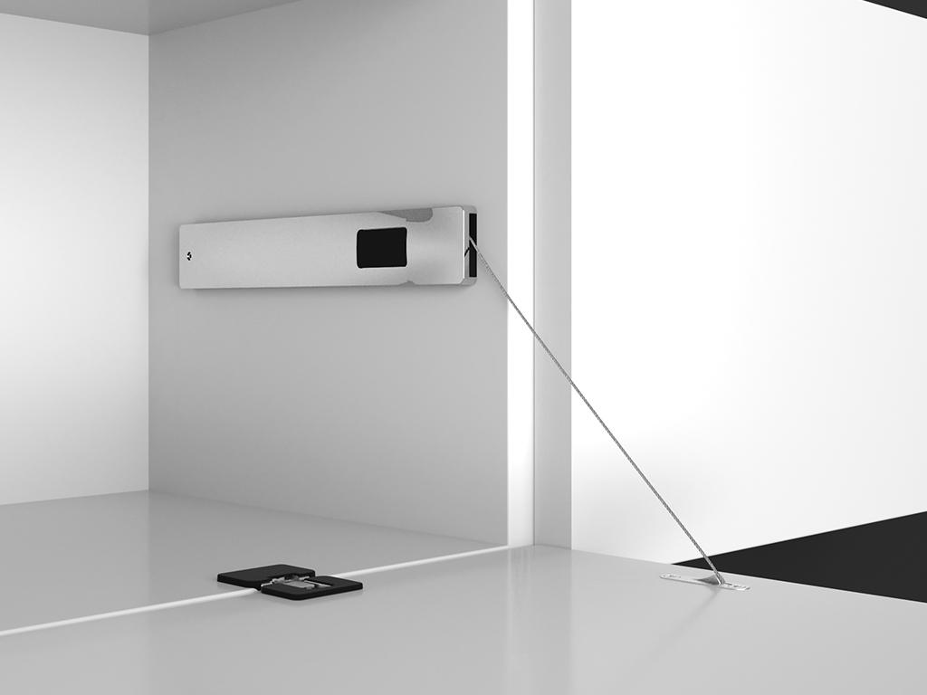 Mecanismos de puertas batientes de la serie Winch de Effegibrevetti: funcionalidad y diseño