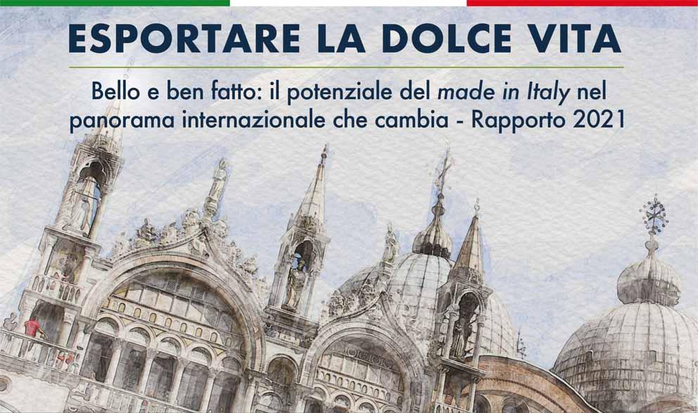 Il Bello e Ben Fatto italiano vale 135 miliardi di export