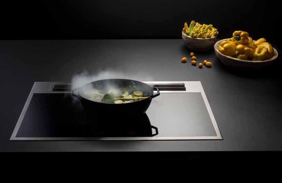 Sintesi von Falmec: ein innovatives Kochsystem mit integrierter Ausatmung