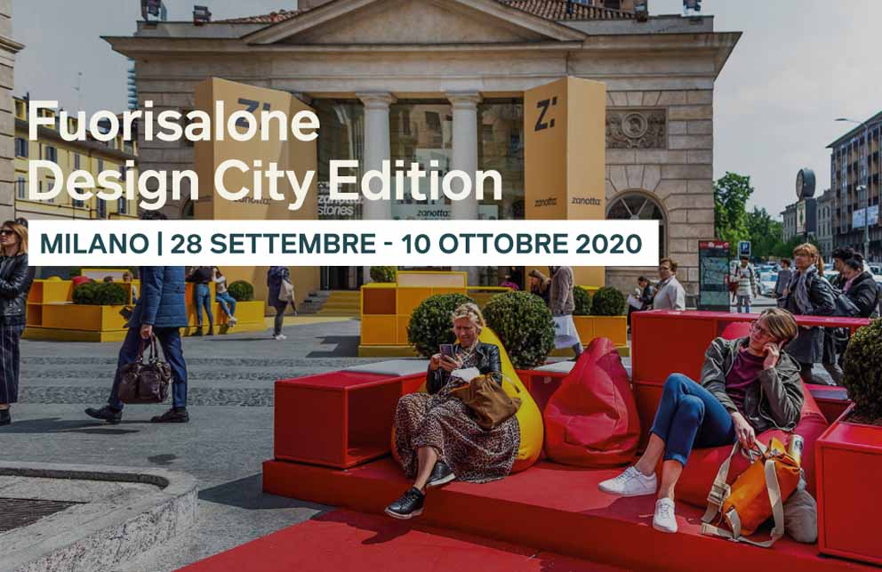 Milano Design City 2020: far ripartire il Sistema Design Italia
