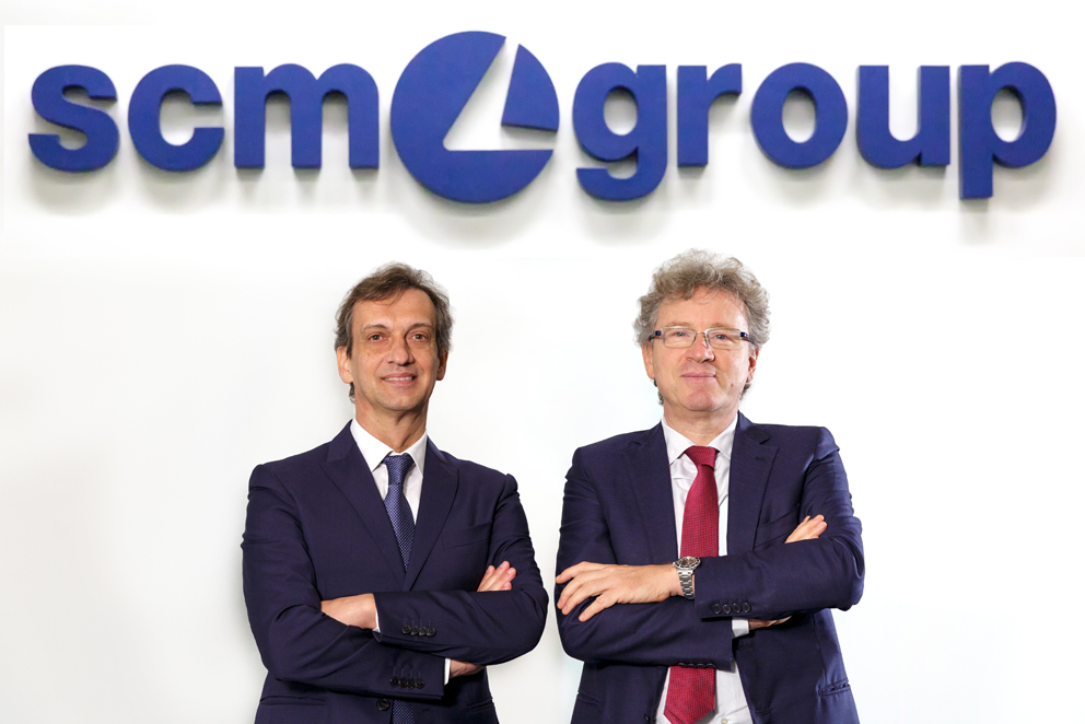 Scm Group: Los resultados financieros de 2019 confirman su solidez financiera y recompensan la innovación