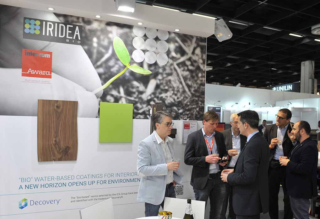 Iridea BIO: the bio-innovative line of wood varnishes for interiors by ICA Group