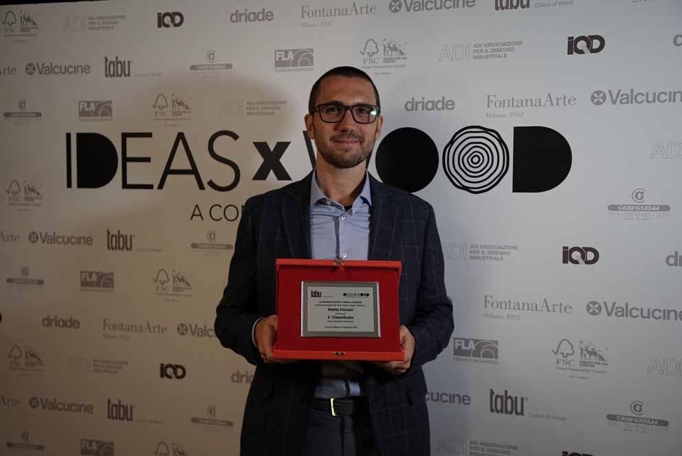 IDEASxWOOD 2020: en la Trienal la proclamación de los ganadores del Concurso promovido por Tabu