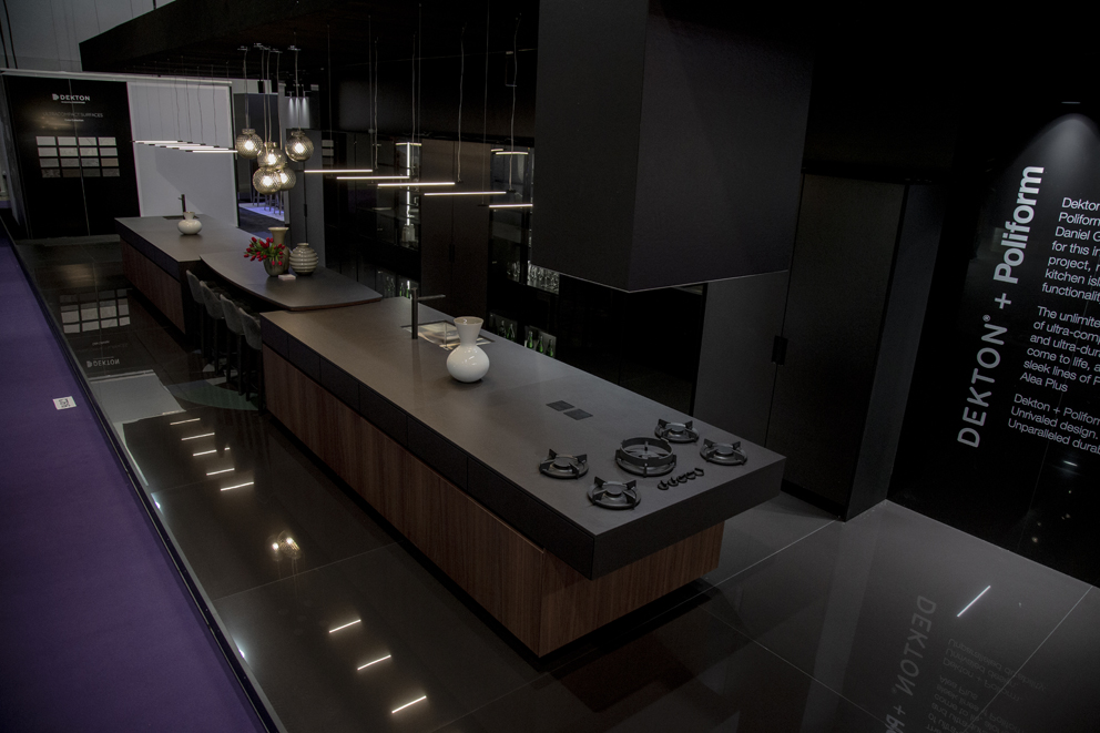 From Poliform and Dekton® by Cosentino a new concept of personalized kitchen