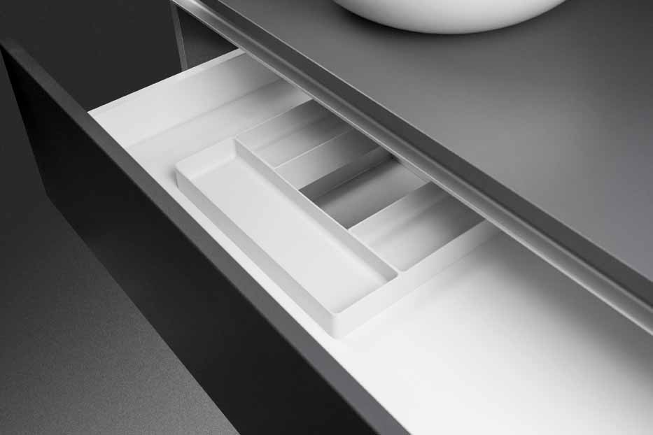 995 Euro Orvel: how to best organize the vanity drawer
