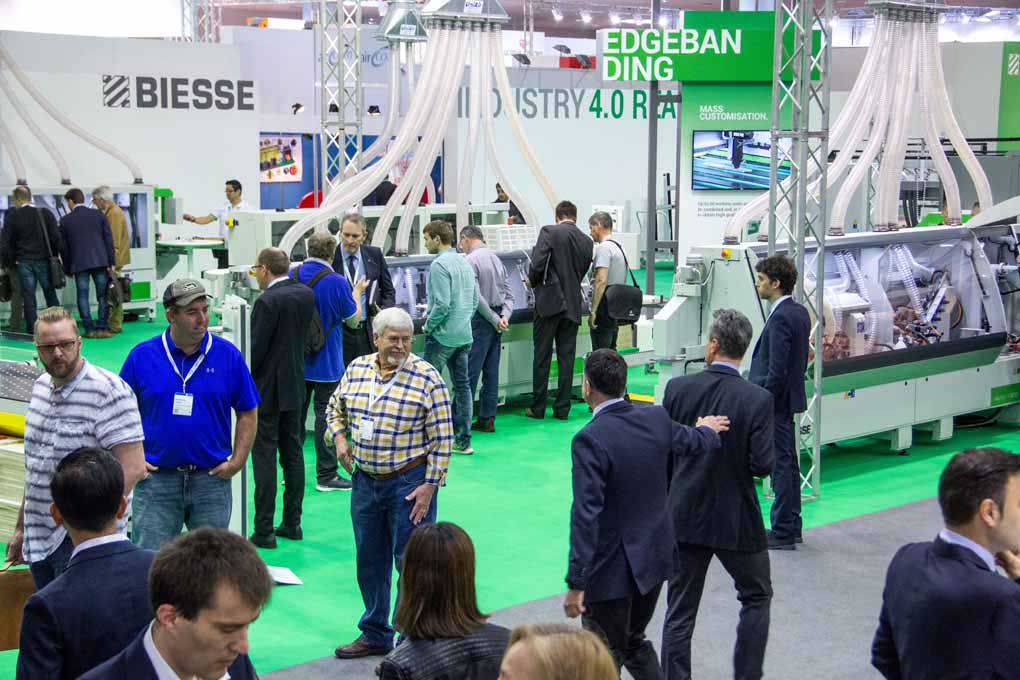 Biesse a Ligna 2017: think forward 10023