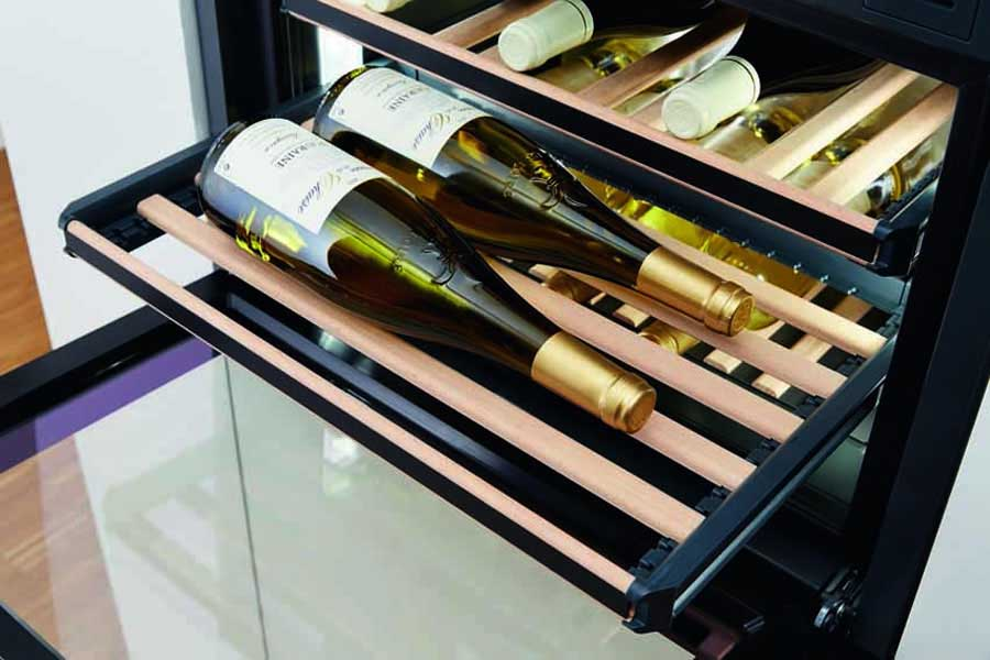 Miele presents the all built-in wine units