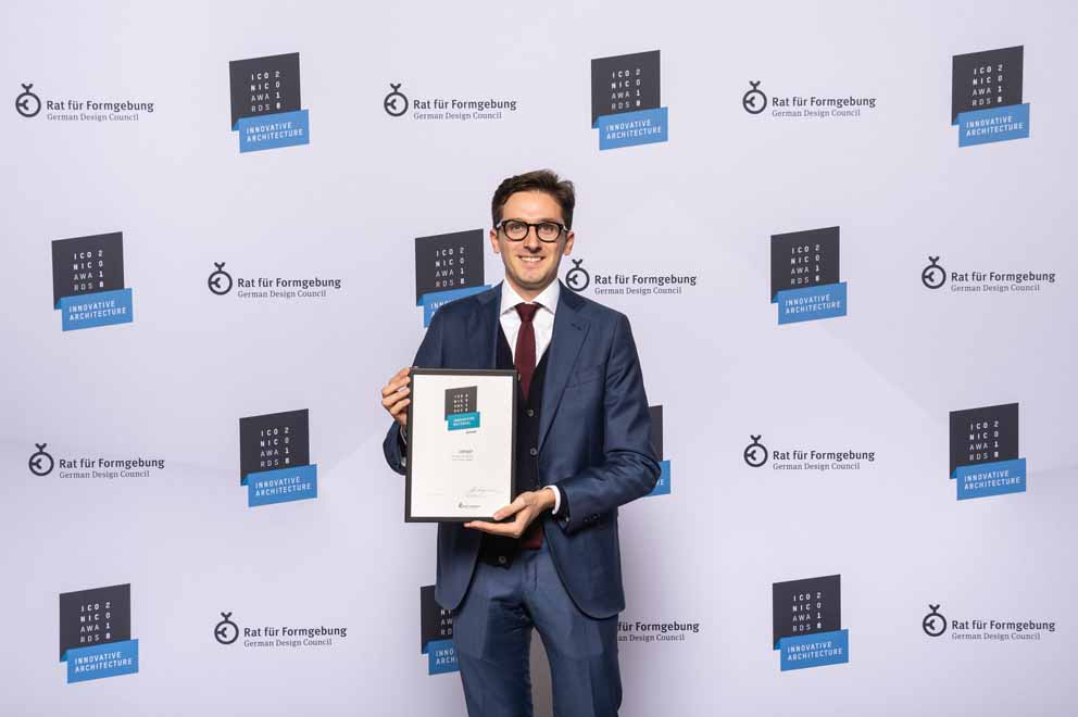 """Lapitec® won the 2018 Iconic Award in the """"innovative material"""" category"""