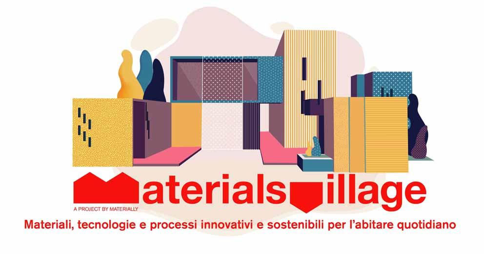 Materially presenta Materials Village alla Milano Design Week 2021