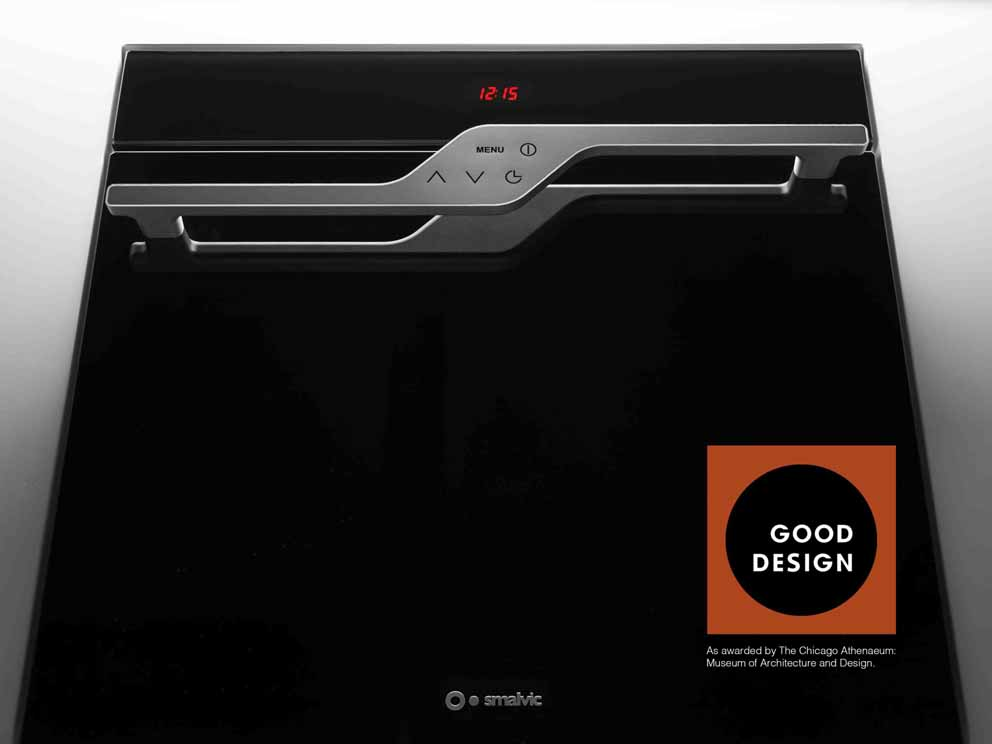 Smalvic Next 60 oven wins the prestigious GOOD DESIGN 2017 10161