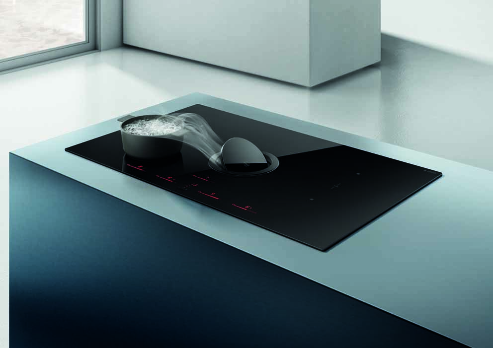 The new NikolaTesla Switch induction suction floor by Elica