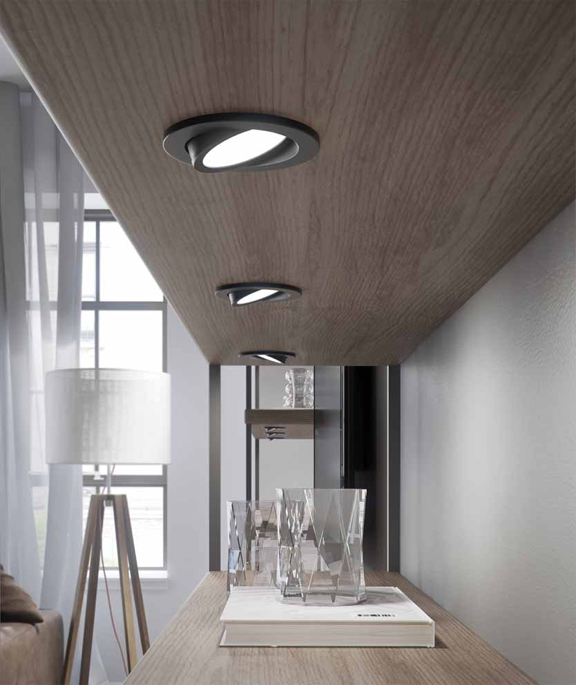 DMATT: the new finishes for Domus Line luminaires 10195