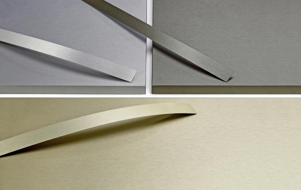Ostermann: tres nuevos bordes ABS con efecto metálico mate para las superficies Fenix NTA