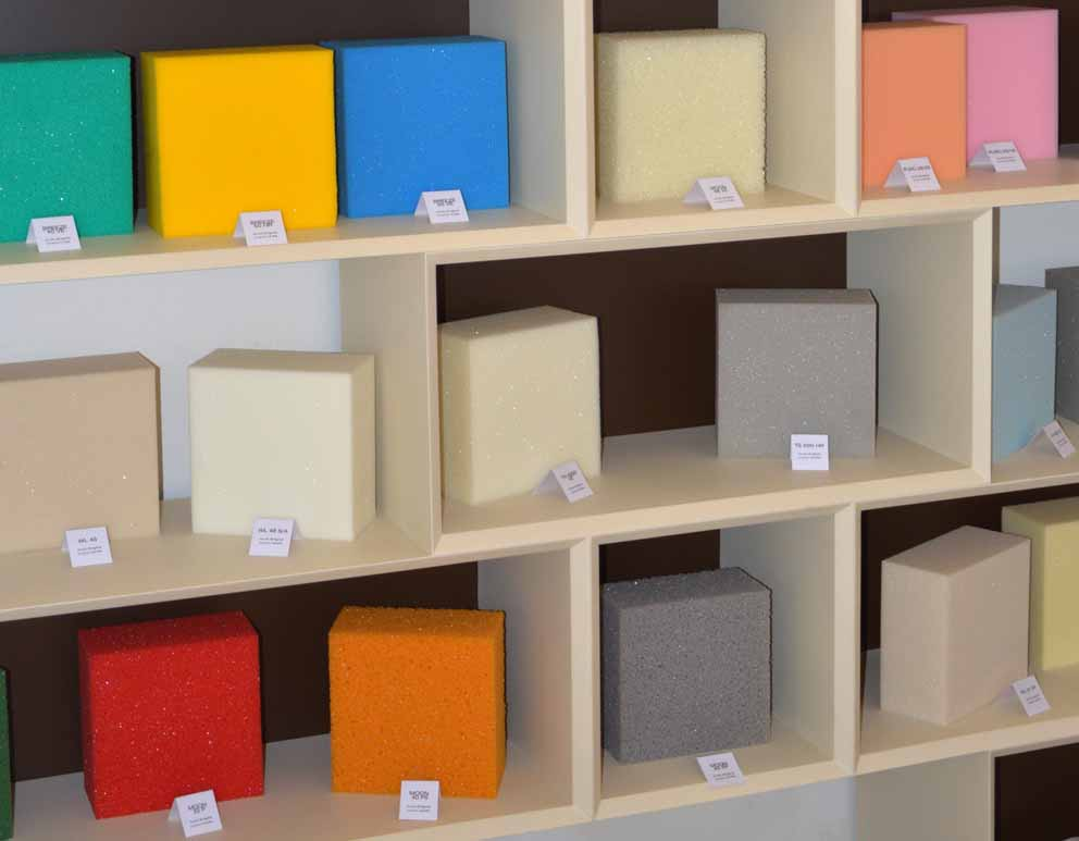 Orsa Home: the quality of flexible polyurethane foam on display
