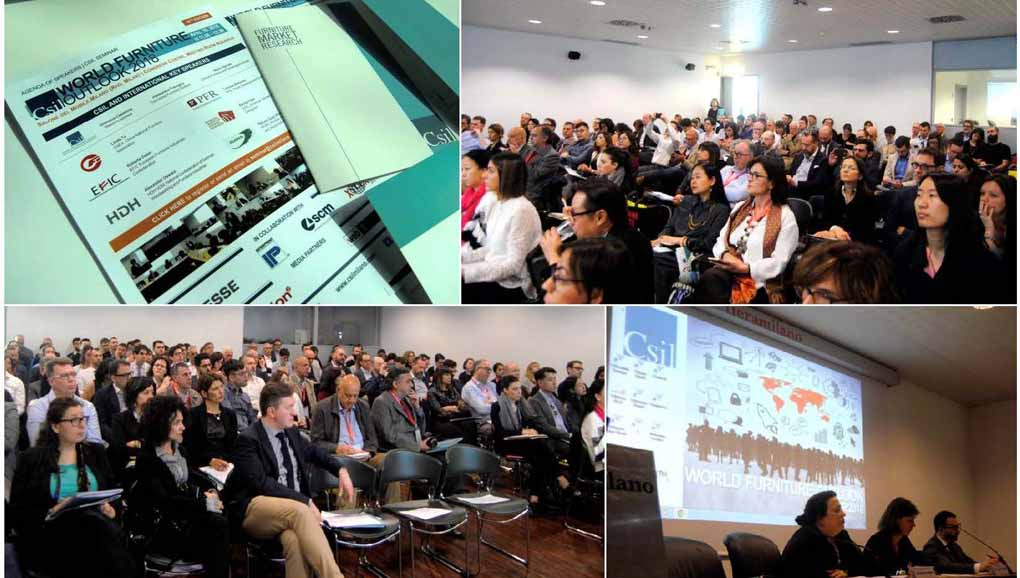 Seminario 2018 CSIL World Furniture Outlook: el desarrollo del mobiliario global