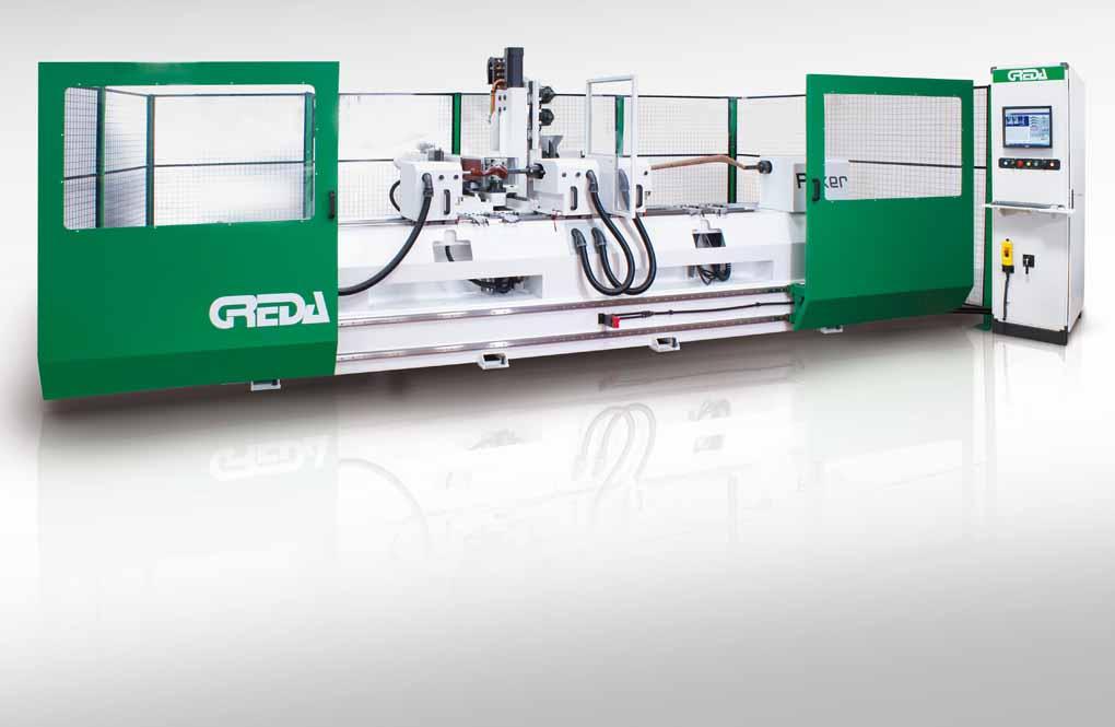 Greda: macchine per la lavorazione del legno sempre più evolute e sofisticate  10174
