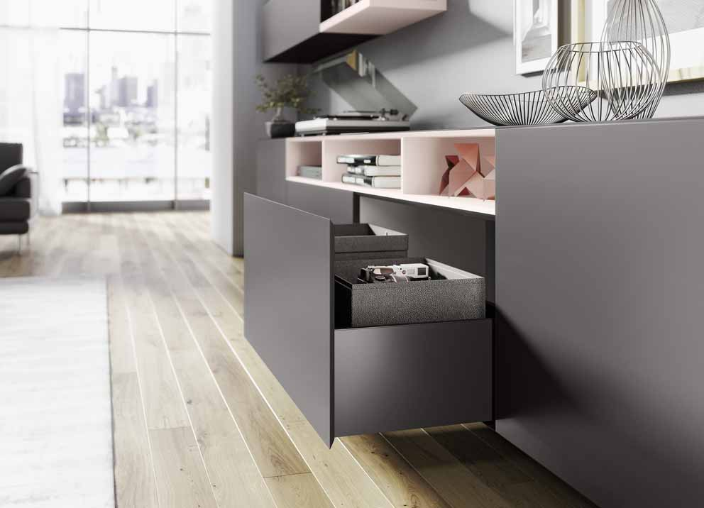New ideas for customised furniture from Hettich  10386