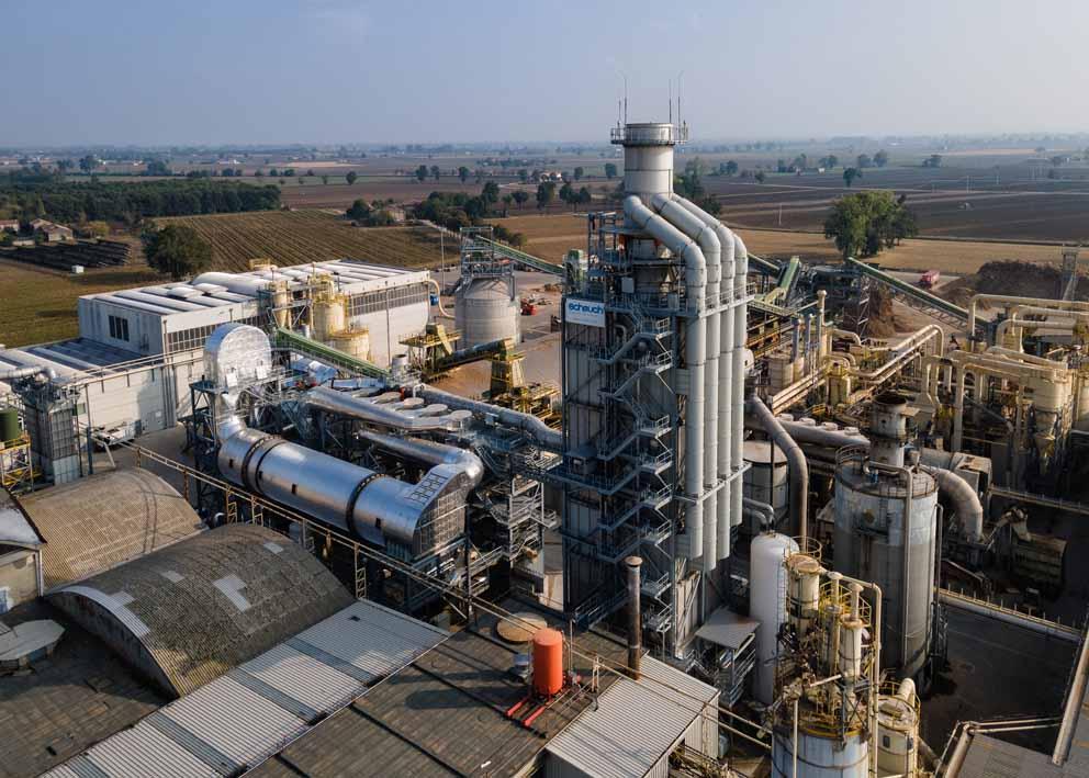 Sostenibilità: Saib inaugura il nuovo impianto di essiccazione e abbattimento delle emissioni