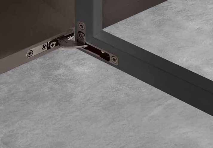 Air furniture hinge by Salice: a new combination of technology and aesthetics 10156