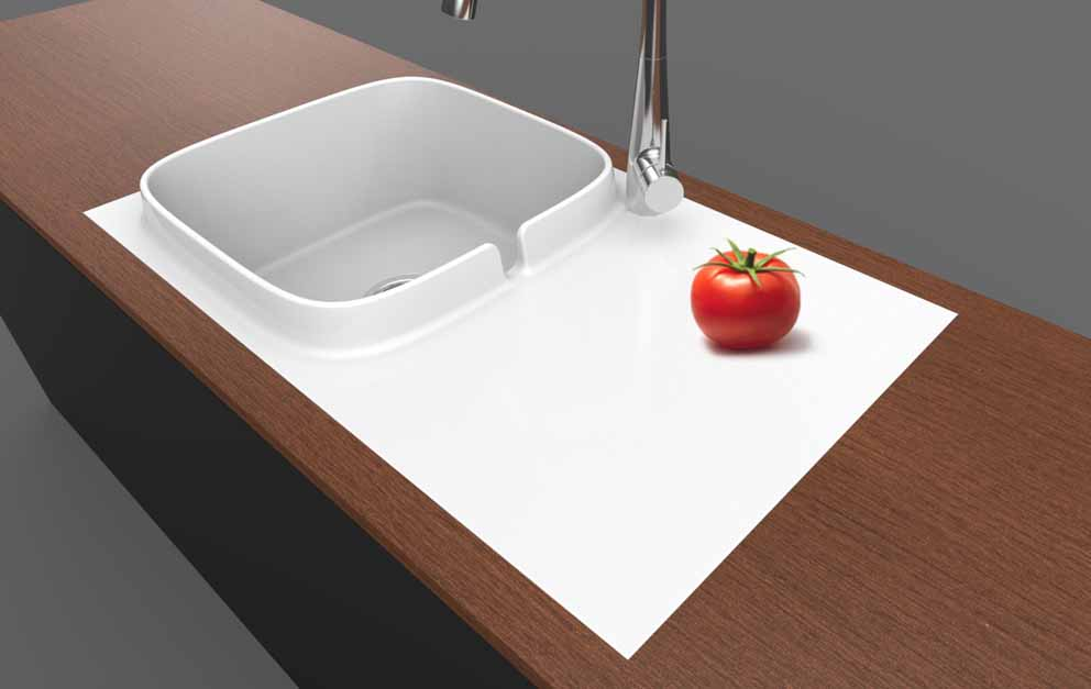 The Up kitchen sink by Scarabeo wins the iF DESIGN AWARD 2019