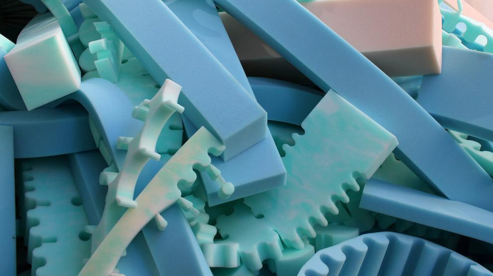 Flexible polyurethane foam: industrial waste becomes useful and valuable