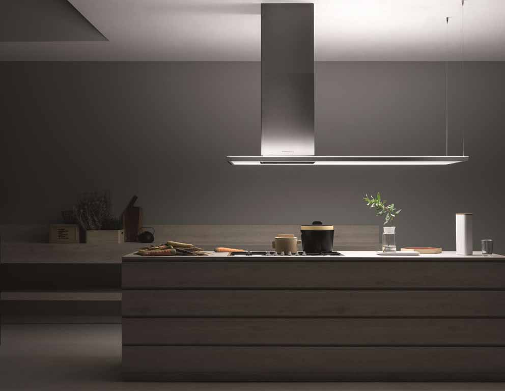 Falmec hoods with NRS® technology: silence in the kitchen