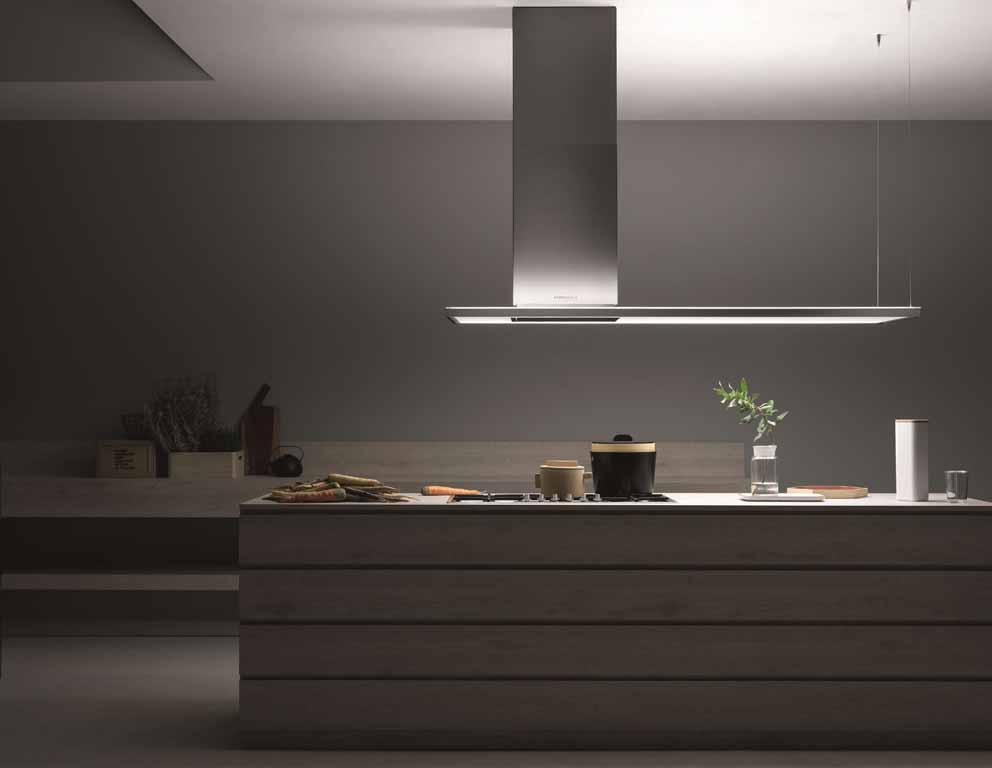 Falmec-Hauben mit NRS®-Technologie: Stille in der Küche