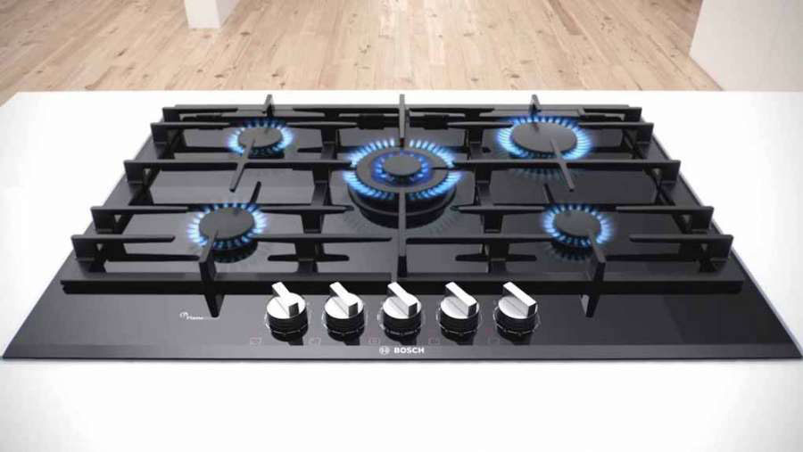 New gas hobs FlameSelect of Bosch Elettrodomestici  0