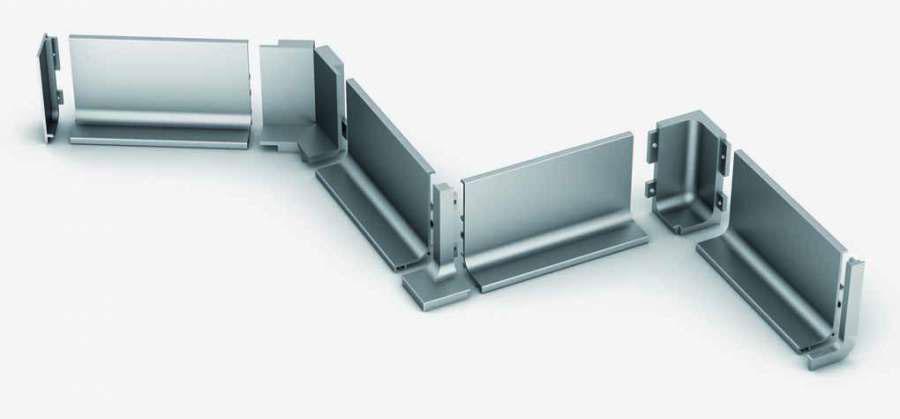 Aluminum outlines Ossicolor 3