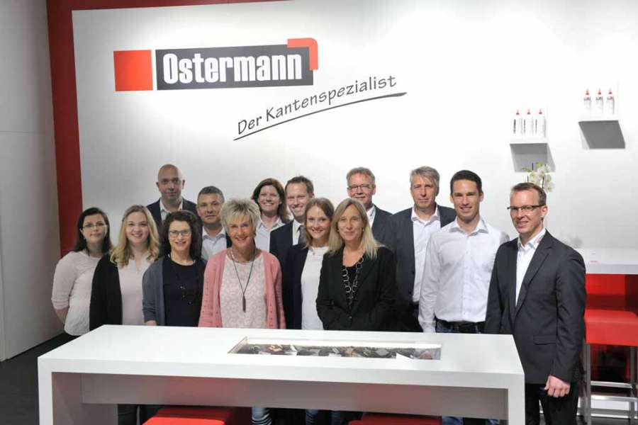 group ostermann the world of the edge at interzum 2017. Black Bedroom Furniture Sets. Home Design Ideas