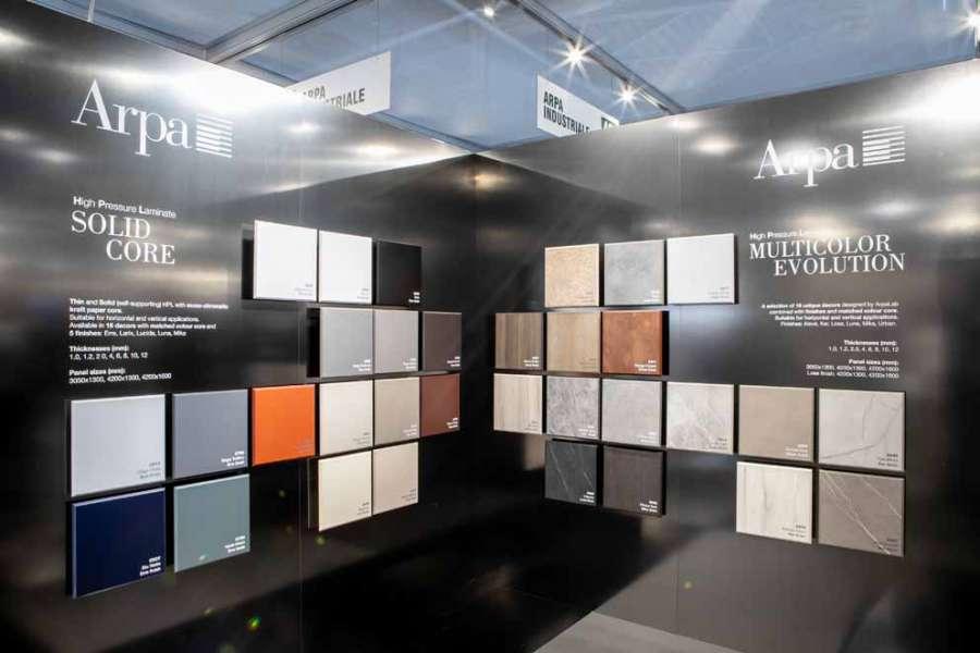 Le nouvel Arpa HPL et Fenix à Sicam 2018: contrastes de matériaux et solutions intégrées 0