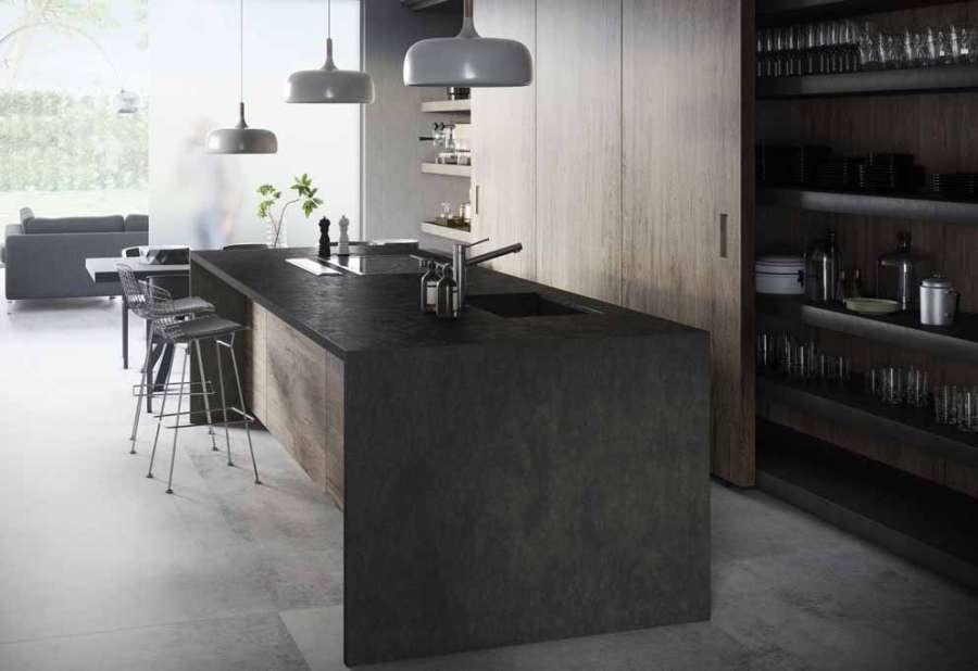 La superficie ultra compacta Dekton® by Cosentino está enriquecida con dos tonos 2