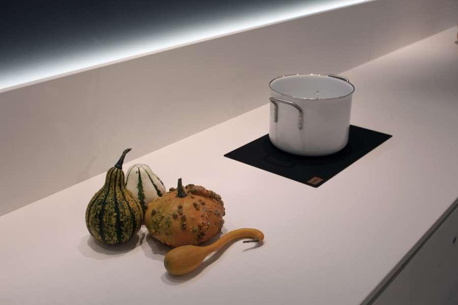 Top cucina in pietra sinterizzata Lapitec® con lavello integrato Orion 0