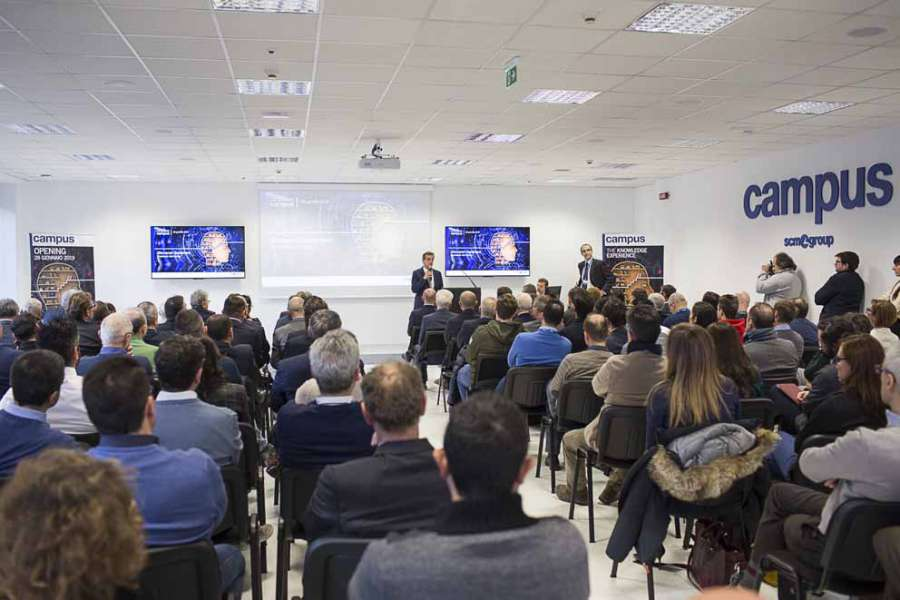 """Campus"" e ""Smart&Human Factory"": due importanti iniziative di SCM Group 0"