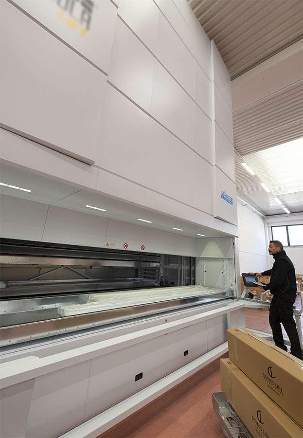 Il nuovo magazzino verticale automatizzato