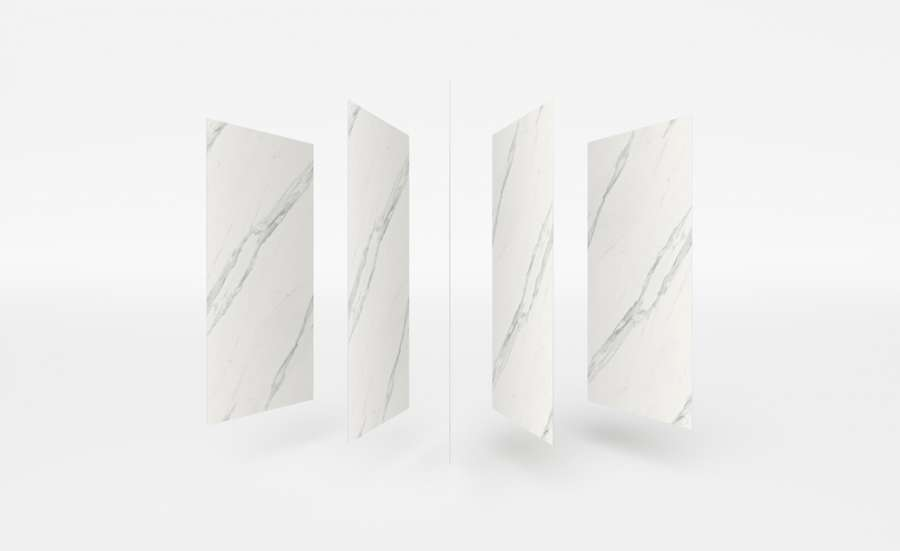 The ultra-compact Dekton® surface proposed in the new Slim format 2