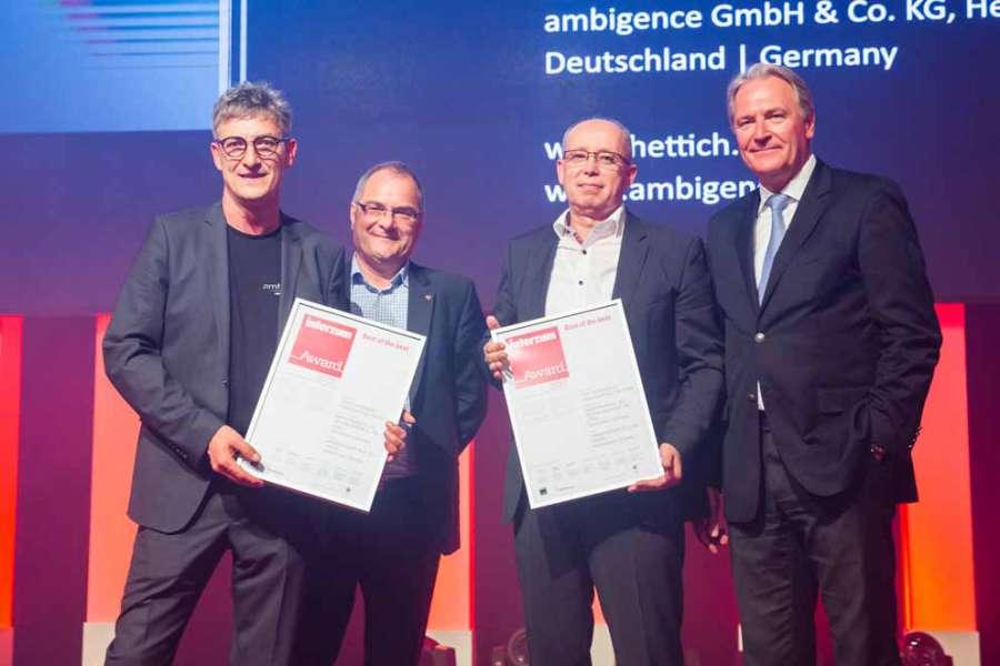 Gewinner des interzum award 2019 in Köln ausgezeichnet 3