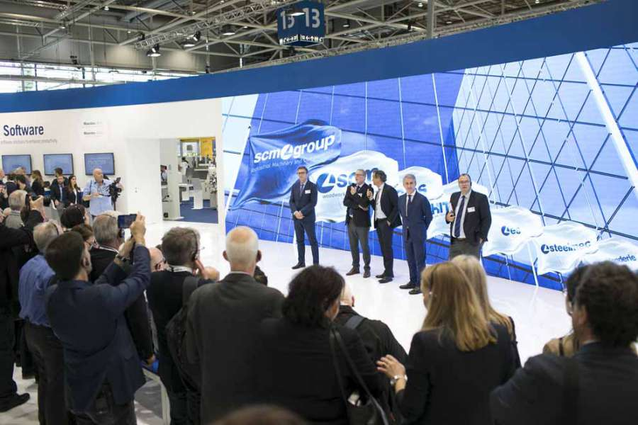 SCM presenta a Ligna la Smart Factory a misura d'uomo 2