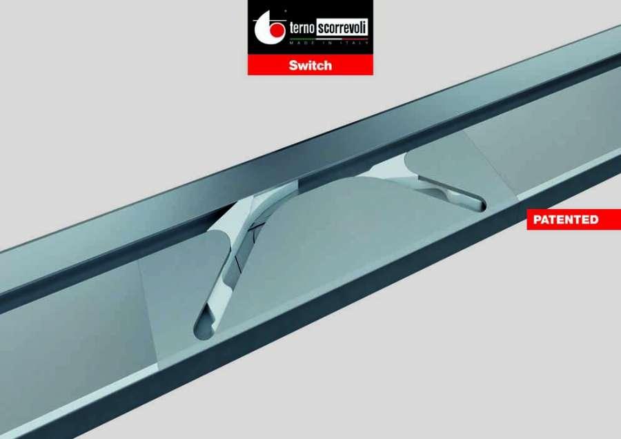 Terno Scorrevoli Switch: das innovative Schiebesystem für ausgerichtete Türen 0