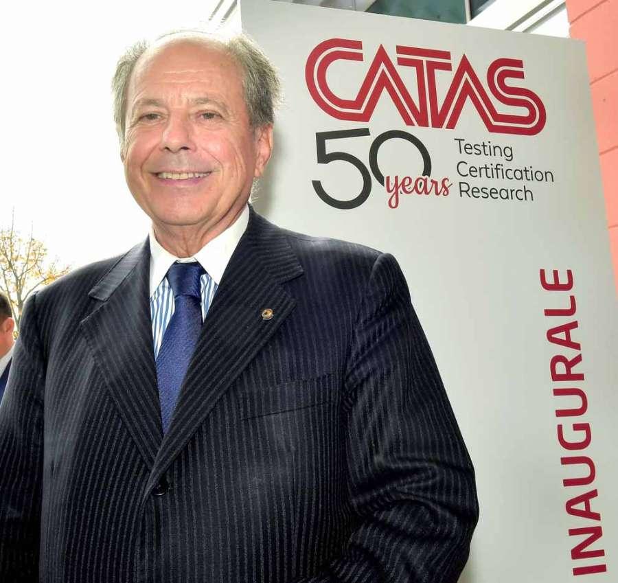 Il Presidente del Catas, Bernardino Ceccarelli