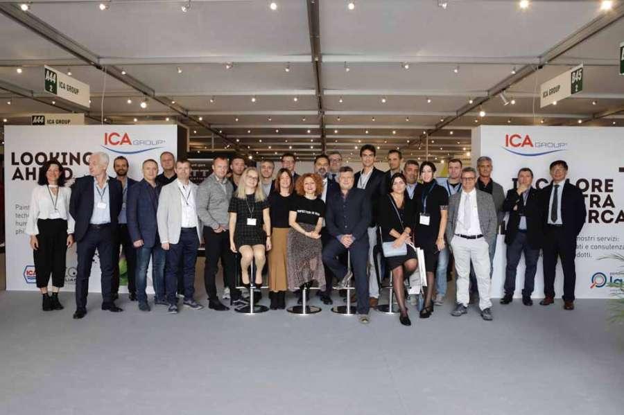 Ica Group al Sicam 2019: vernici S-Matt, vernici BIO e il laboratorio accreditato Performance Lab  0